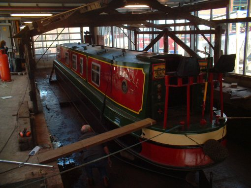 Pole Pole undergoing inspection before full purchase, and before becoming Lynton Dreams