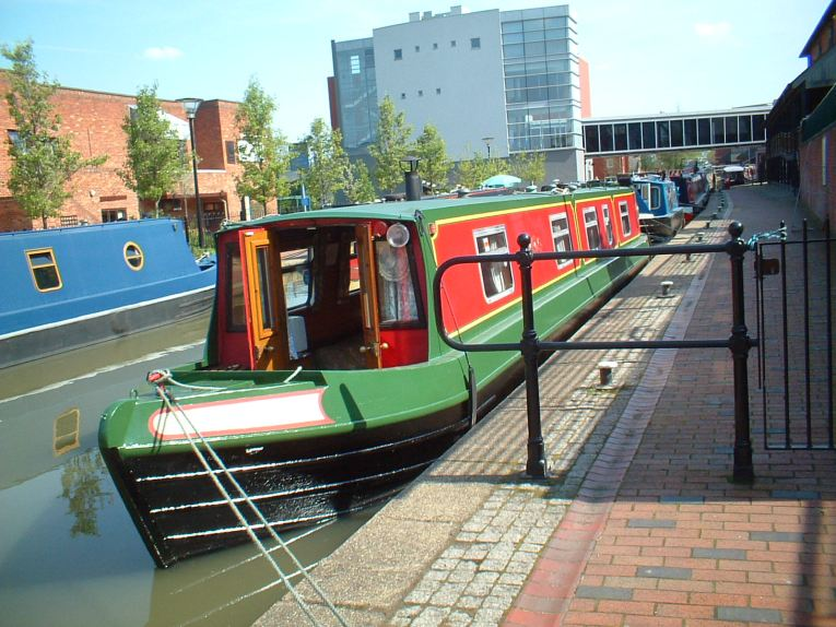 Banbury Wharf First Time we saw her.