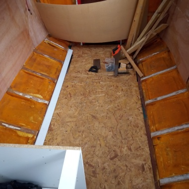 wood floor dropped