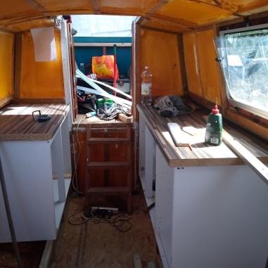 Kitchen area stern