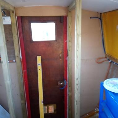 both wardrobe/cupboards installed