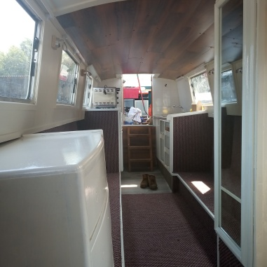 view fro bow to stern fit almost finished