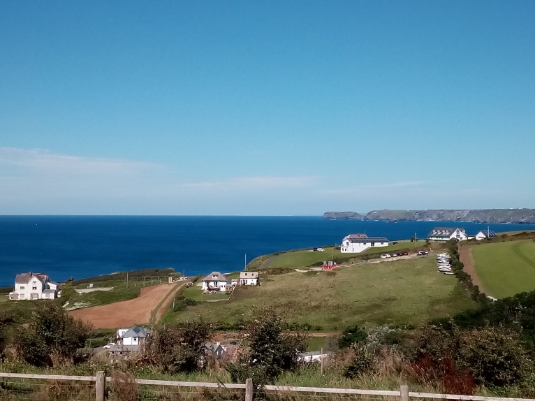View over Tintagel